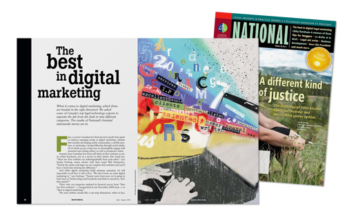 Latest issue of the National.
