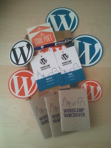 WordCamp Swag