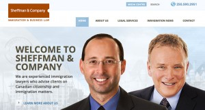 Sheffman & Co Website