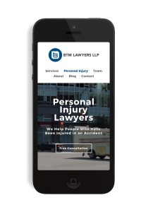 Personal Injury Mobile Site