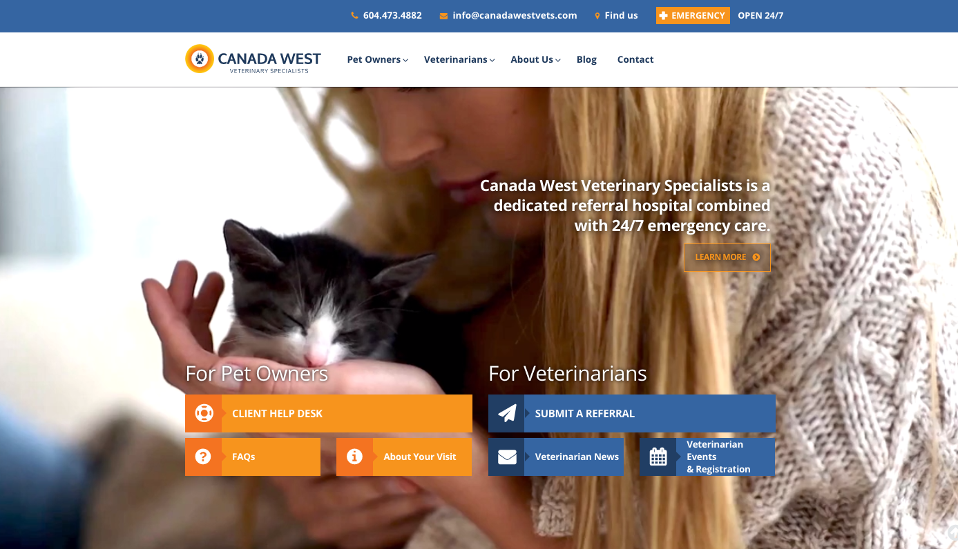 Canada West Vets