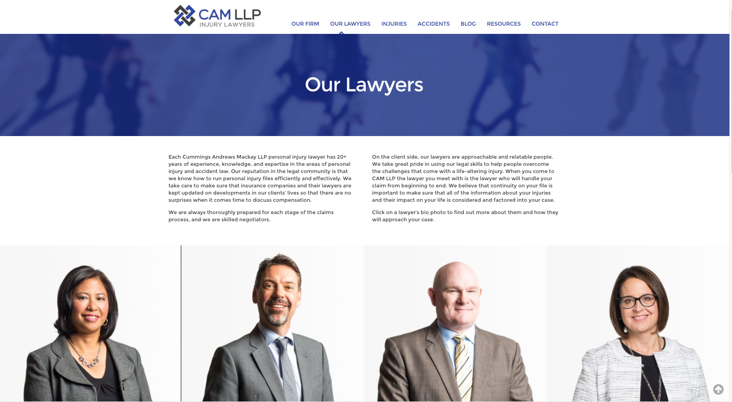 CAM LLP Our Lawyers