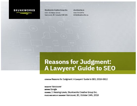 Download Lawyers Guide to SEO as a PDF